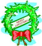 Bright Christmas Wreath
