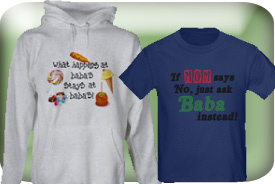Baba Gifts and T-Shirts
