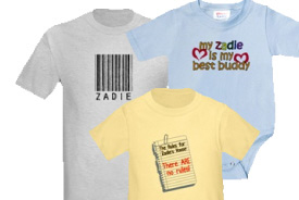 Zadie Gifts and T-Shirts