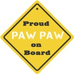 Proud Paw Paw on Board