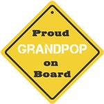 Proud Grandpop on Board
