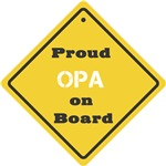 Proud Opa on Board
