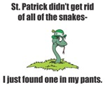 Snake in my pants!