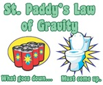 St. Paddy's Law of Gravity