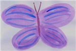 Blue Purple Butterfly