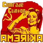 comrade clinton hillary clinton  election t-shirt