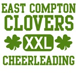 East Compton Clovers cheerleading t-shirt