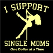 I Support Single Moms - Cream
