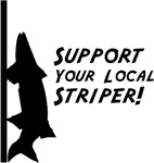 Support Your Local Striper, Earth Day Clothing!