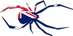 Australian Flag Redback Spider T-Shirts and Gifts!