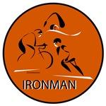 Abstract Ironman Orange