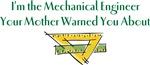 I'm the Mechanical Engineer