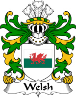 Welsh Last Name Coats of Arms