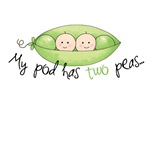 My pod has two peas...