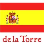 DeLaTorre Spanish Flag