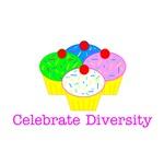 Celebrate diversity-cupcakes