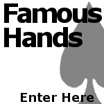 Famous Poker Hands on Shirts