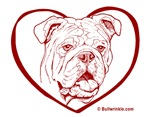 Bully Heart Red