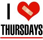I Love Thursdays for Grey's T-Shirts