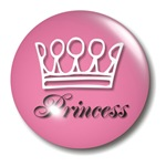Pink Princess Crown Girly T-shirts & Gifts