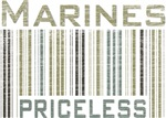 Marines Priceless Barcode T-shirts & Gifts