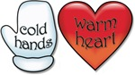 Funny Cold Hands Warm Heart T-shirts & Gifts