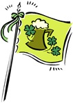 Irish Beer Flag T-shirts & Gifts