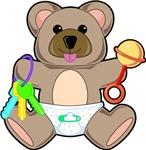 Cute Baby Teddy Bear Animal T-shirts & Gifts
