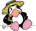 Beach Penguin Cute Cartoon T-shirts & Gifts