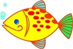 Yellow Fish T-shirts & Gifts