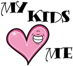 My Kids Love Heart Me Mom Teacher T-shirts & Gifts