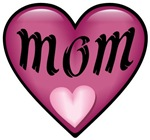 Pink Heart Mom Mother's Love T-shirts & Gifts