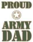 Father's Day Proud Army Dad Tee Shirts & Gifts