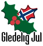 Norway Christmas Gledelig Jul T-shirts & Gifts
