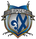 Eriksen Coat of Arms Name T-shirts & Gifts