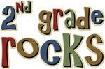 2nd Grade Rocks Second School T-shirts & Gifts