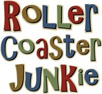 Roller Coaster Junkie Fanatic T-shirts & Gifts