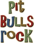 Pit Bulls Rock Dog Lover T-shirts & Gifts