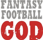 Fantasy Football God t-shirts gifts