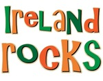 Ireland Rocks Souvenir Irish T-shirts Gifts