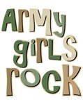Army Girls Rock Military T-shirts Gifts