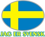 I Am Swedish t-shirts gifts