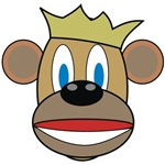 Monkey w/ Crown
