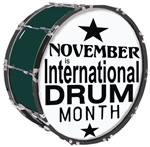 International Drum Month t-shirts gifts