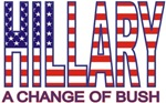 Funny Hillary Clinton Change Bush T-shirts Gifts