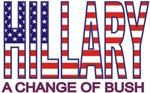Funny Hillary Clinton Change Bush T-shirts Gifts