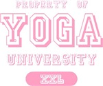 Property of Yoga University T-shirts Gifts