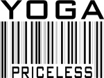 Yoga Priceless Bar Code T-shirts Gifts