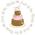 Aunt of the Bride T-shirts Gifts