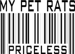 My Pet Rats Priceless T-shirts and Gifts
